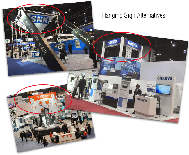 IMTS 2016 Hanging Banners